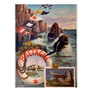Carte Postale La Bretagne - en Mer la Bretagne d'Ile de belle