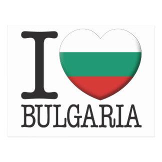 Carte Postale La Bulgarie