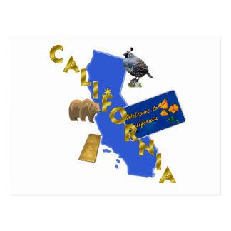 Carte Postale La Californie