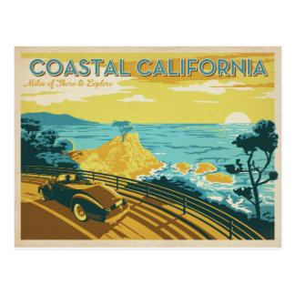Carte Postale La Californie côtière