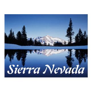 Carte Postale La Californie, sierra montagnes de Nevada,