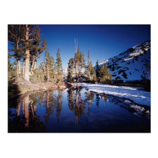 Carte Postale La Californie, sierra montagnes de Nevada 2
