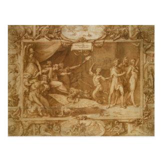 Carte Postale La calomnie d'Apelles, 1572
