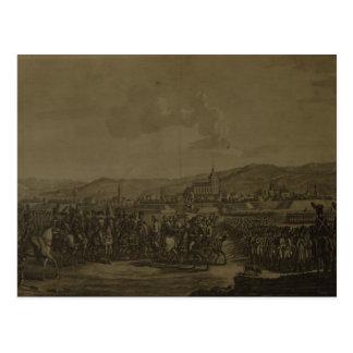 Carte Postale La capitulation d'Ulm en octobre 1805