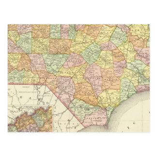 Carte Postale La Caroline du Nord