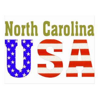 Carte Postale La Caroline du Nord Etats-Unis !