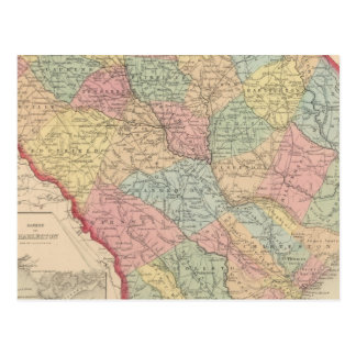 Carte Postale La Caroline du Sud 3