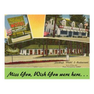 Carte Postale La Caroline du Sud, le motel de Sturkey,