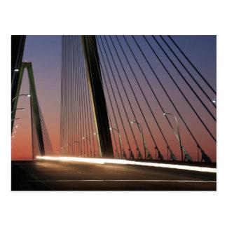 Carte Postale La Caroline du Sud, pont de Jr. d'Arthur Ravenel