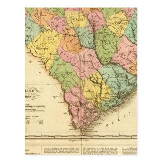Carte Postale La Caroline du Sud USA