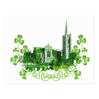 Carte Postale La cathédrale de Patrick de saint à Dublin