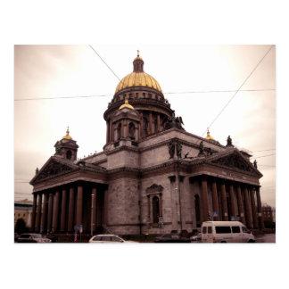Carte Postale La cathédrale d'Isaac de saint