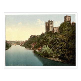 Carte Postale La cathédrale et le château du pont, Durham,