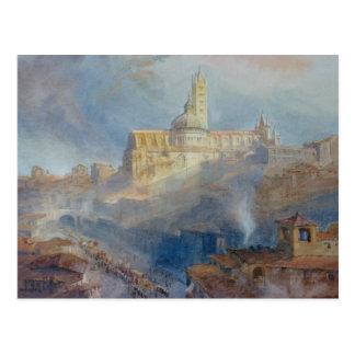 Carte Postale La cathédrale, Sienne, 1902