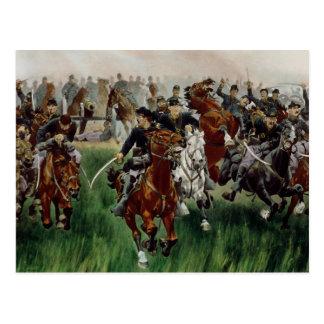 Carte Postale La cavalerie, 1895