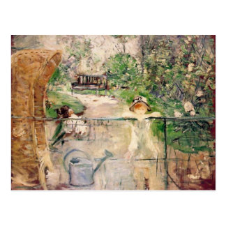 Carte Postale La chaise de panier, Berthe Morisot