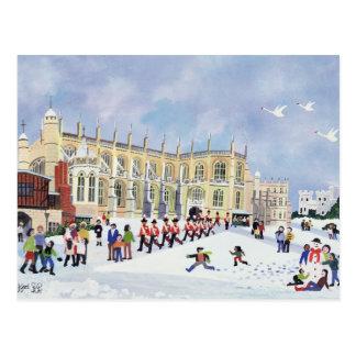 Carte Postale La chapelle Windsor de St George