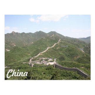 Carte Postale La Chine