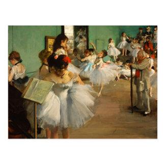 Carte Postale La classe de danse | Edgar Degas