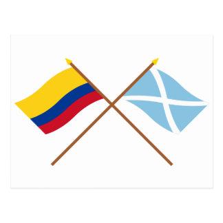 Carte Postale La Colombie et le San Andrés y Providencia ont