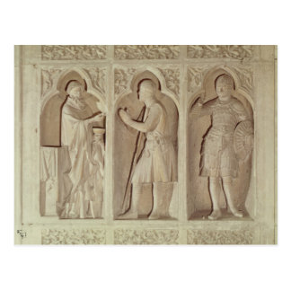 Carte Postale La communion d'un chevalier