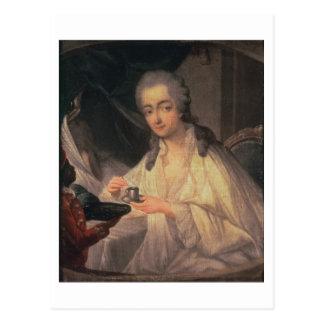 Carte Postale La Comtesse du Barry (1743-93) (huile sur la
