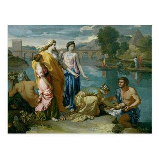 Carte Postale La conclusion de Moïse, 1638