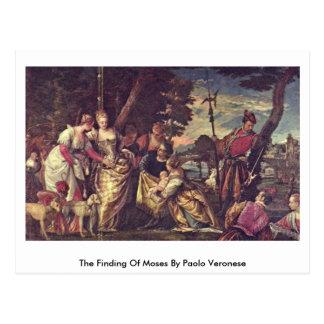 Carte Postale La conclusion de Moïse par Paolo Veronese