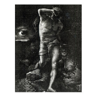 Carte Postale La conscience ou, l'oeil observant Caïn