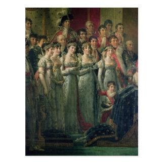Carte Postale La consécration et le Josephine du napoléon