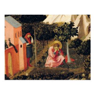 Carte Postale La conversion de St Augustine