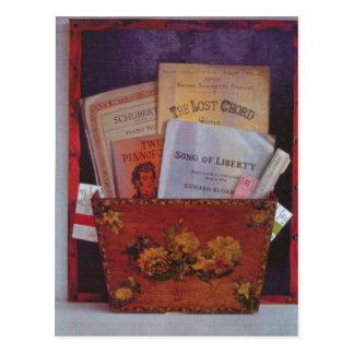 Carte Postale La corde perdue 1986