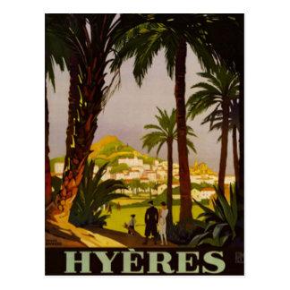 Carte Postale La Côte d'Azur vintage, France -