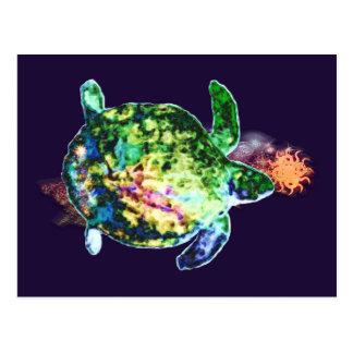 Carte Postale La couleur cosmique Bringer