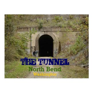Carte Postale La courbure du nord Washington de tunnel