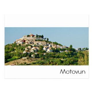 Carte Postale La Croatie - Motovun - Mer Adriatique