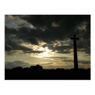 Carte Postale La croix de St Cuthbert