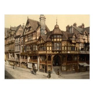 Carte Postale La croix et les rangées, Chester, Cheshire,