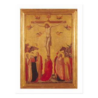 Carte Postale La crucifixion (tempera sur le panneau)