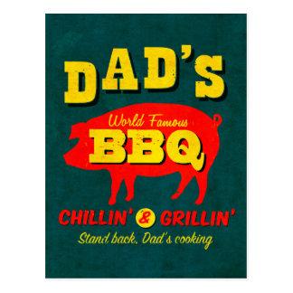 Carte Postale La cuisine du papa