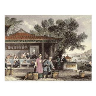 Carte Postale La culture et la préparation du thé, de 'Chine