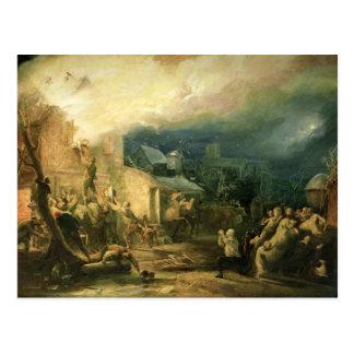 Carte Postale La délivrance de John Wesley