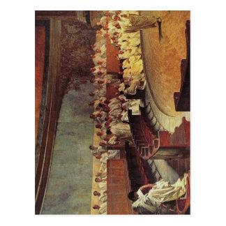 Carte Postale La description Cicero dénonce Catiline : Fresque