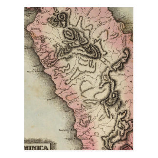 Carte Postale La Dominique