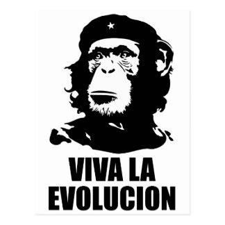 Carte Postale La Evolucion de vivats