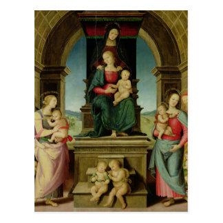 Carte Postale La famille de St Anne, c.1507