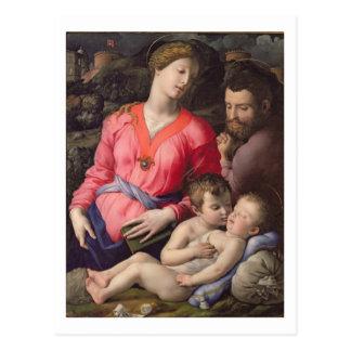 Carte Postale La famille sainte de Panciatichi, c.1530-32 (huile