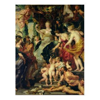 Carte Postale La félicité de Regency, 1621-25