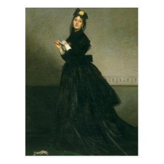 Carte Postale La femme avec le gant, 1869
