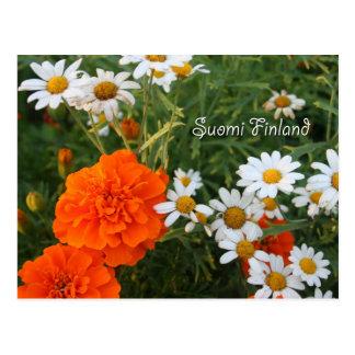 Carte Postale La Finlande en fleurs, 4ème d'une série